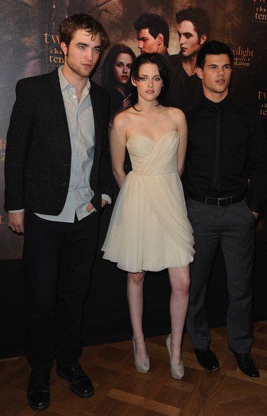Kristen Stewart en la presentación de New Moon en Paris