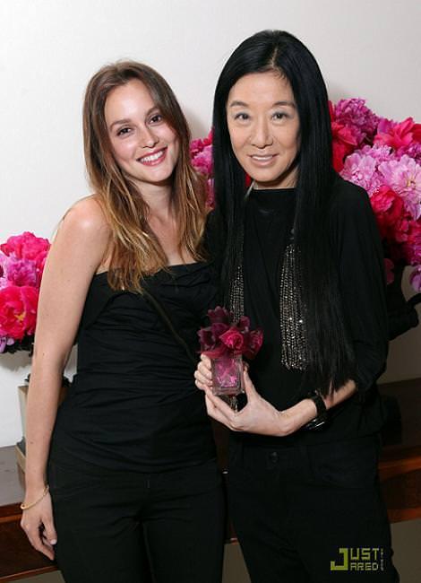 Leighton Meester con el perfume Lovestruck de Vera Wang
