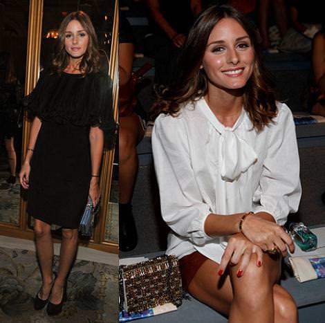 Olivia Palermo en los Front Row de New York Fashon Week