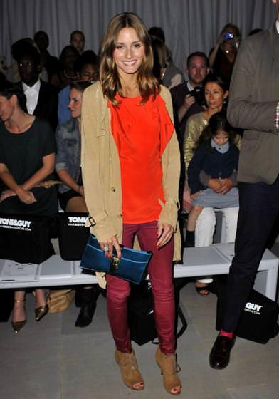 Olivia Palermo y las tendencias del otoño 2011