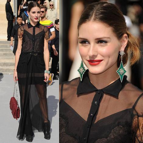 Olivia Palermo en la Paris Fashion Week