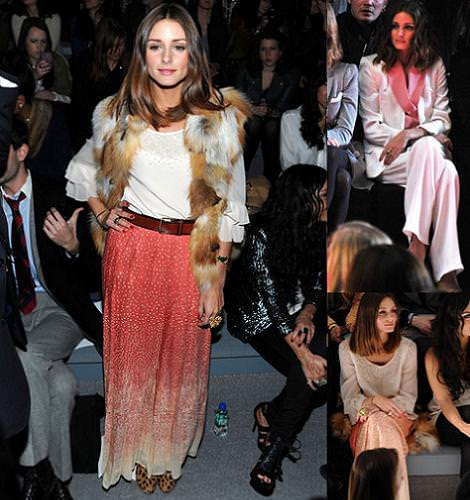 Olivia Palermo en la New York Fashion Week