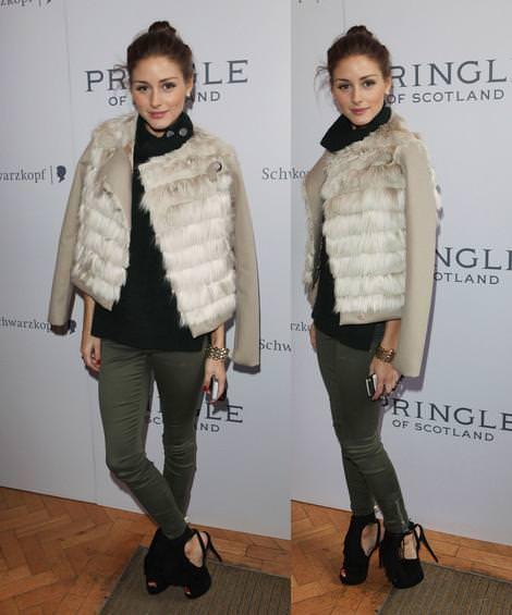 Olivia Palermo en la London Fashion Week
