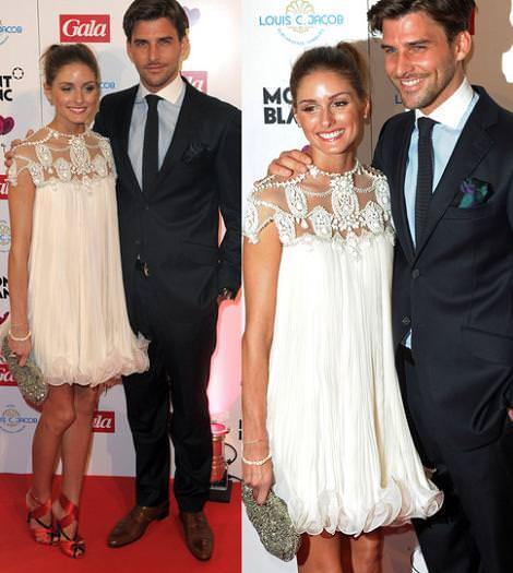 Olivia Palermo y su novio, la mejor pareja del 2011