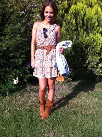 Paula Echevarría y los vestidos asimétricos