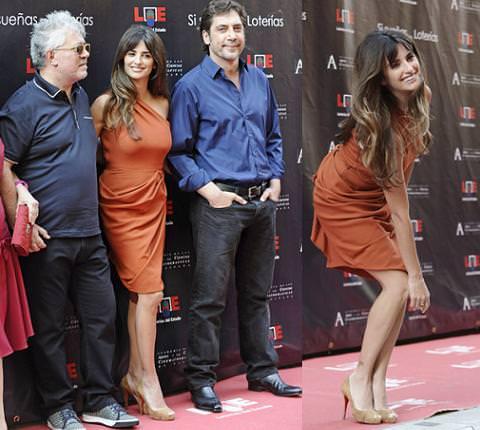 Penélope Cruz y su estrella en Madrid