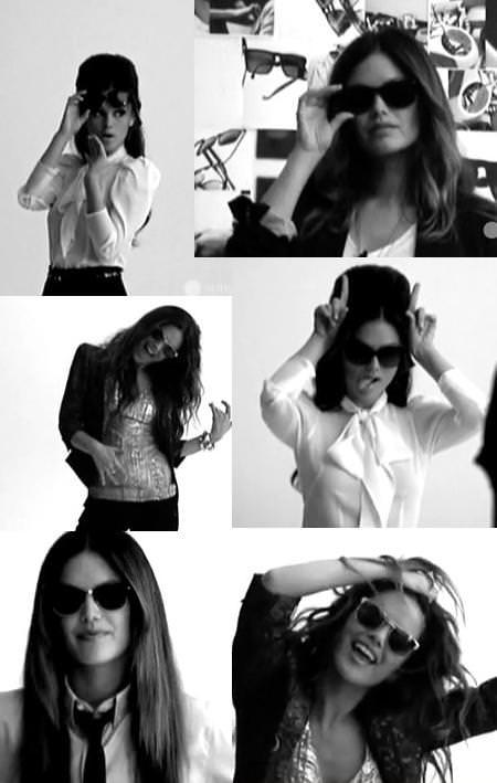 Rachel Bilson con las gafas de sol de Sunglass Hut