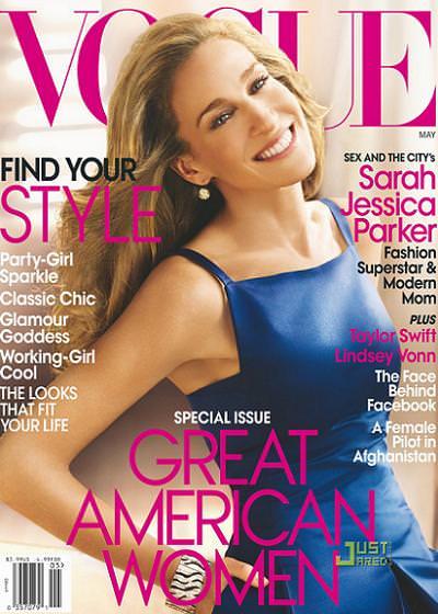 Sarah Jessica Parker en Vogue, mayo 2010