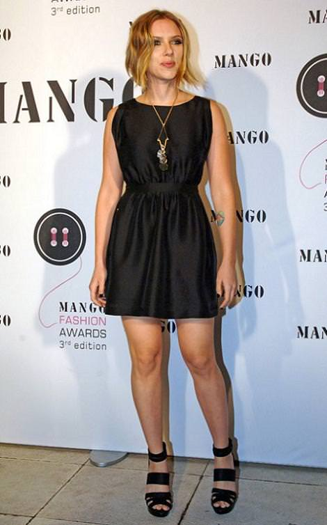 Scarlett Johansson y los Mango Fashion Awards 2010