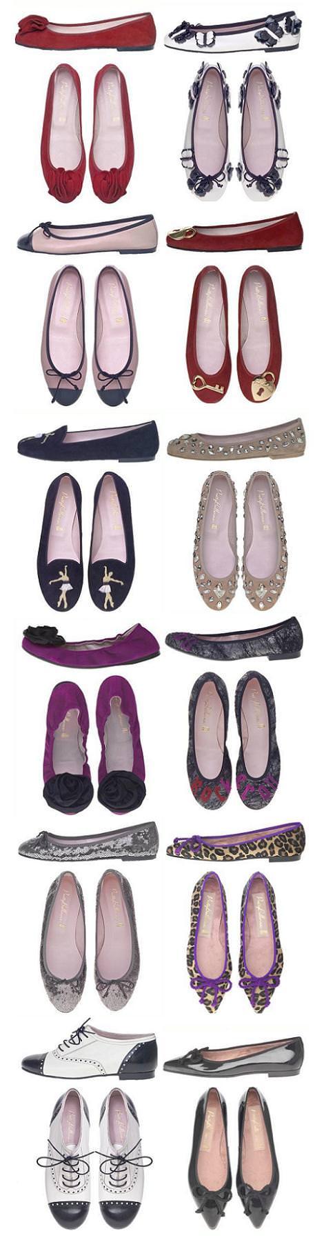 Pretty Bailarinas otoño invierno 2010 2011