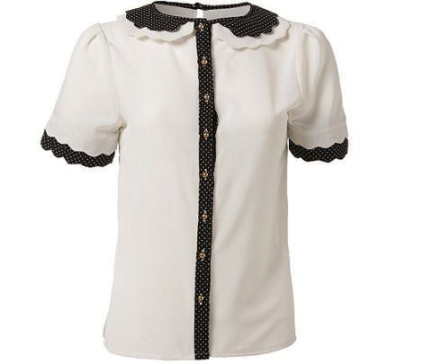 camisa cuello de Primark para la primavera 2012