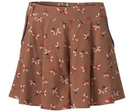 shorts de flores de Primark para la primavera 2012
