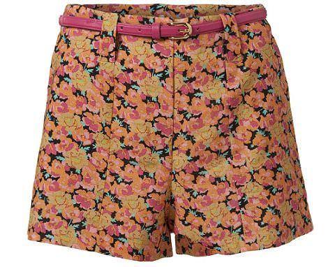 shorts de Primark para la primavera 2012