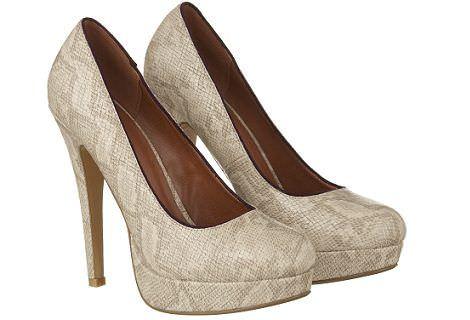 zapatos de primark piton beige