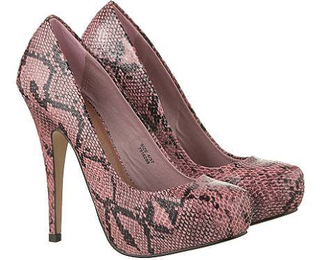 zapatos de primark salon piton