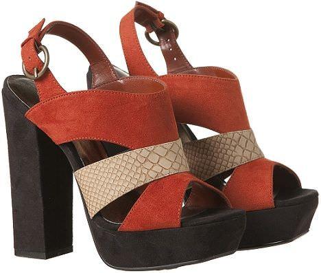 zapatos de primark sandalias tiras
