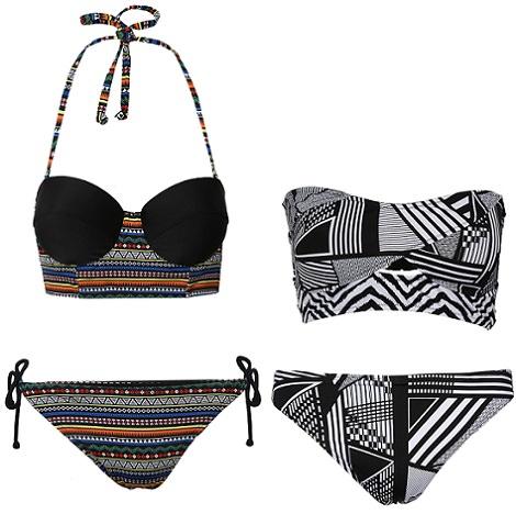 bikinis de estampado étnico de primark primavera verano 2014