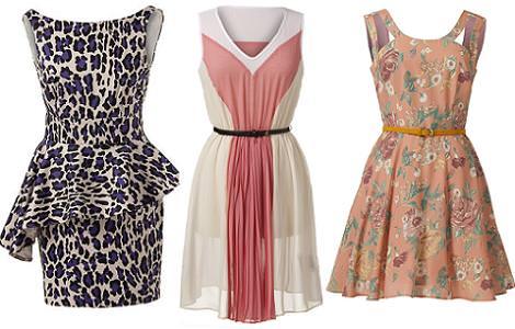 Ropa de Primark primavera verano 2012: vestidos