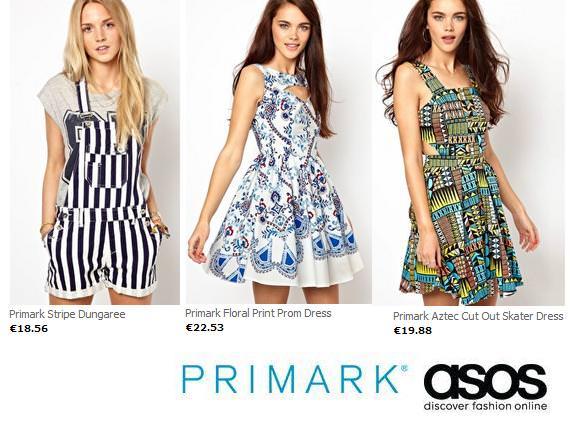 Primark online inaugura tienda en Internet con Asos