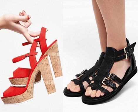 sandalias de Primark primavera verano 2014
