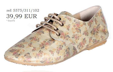 Zapatos oxford de Pull&Bear (otoño invierno 2010 2011)