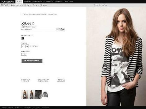 Pull and Bear tienda online