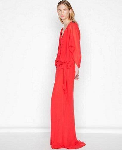 purificacion garcia vestido rojo