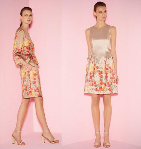 vestidos de fiesta cortos de purificación garcía primavera verano 2014