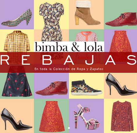 Rebajas de Bimba&Lola enero 2013