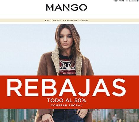 Rebajas de Mango enero 2014; todo al 50%