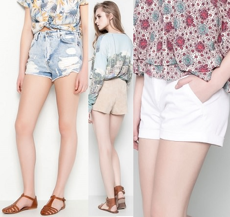 rebajas de short de pull and bear verano 2014