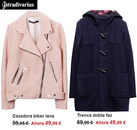 abrigos de Rebajas de Stradivarius enero 2014