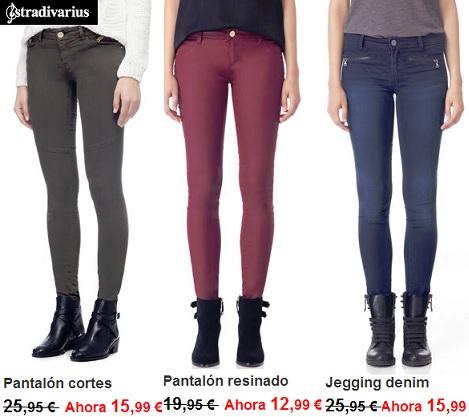 pantalones de Rebajas de Stradivarius enero 2014