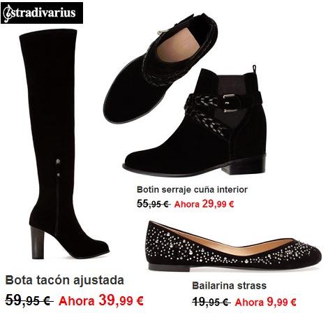 zapatos de Rebajas de Stradivarius enero 2014