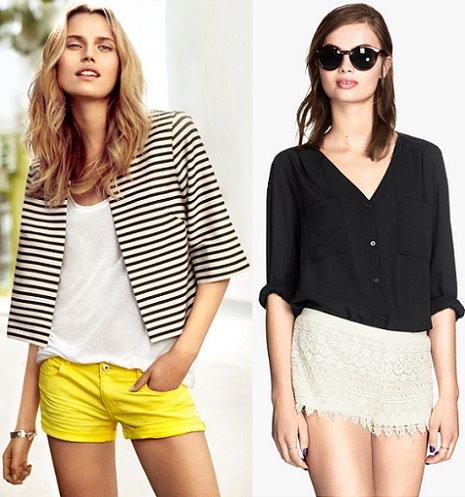 shorts rebajas de H&M verano 2014