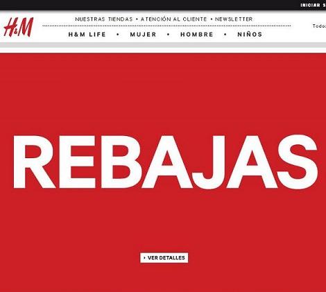 rebajas de H&M verano 2014