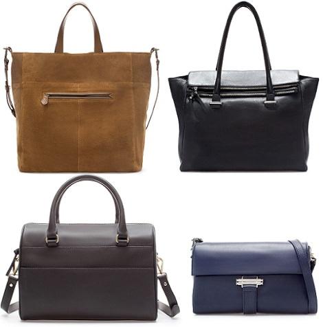 bolsos de rebajas de Zara enero 2014