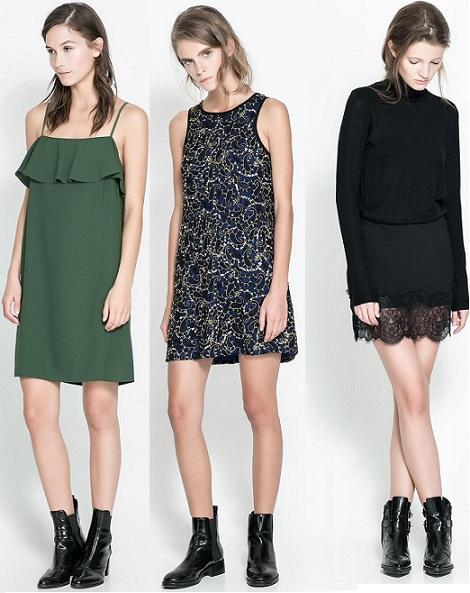 vestidos de rebajas de Zara enero 2014