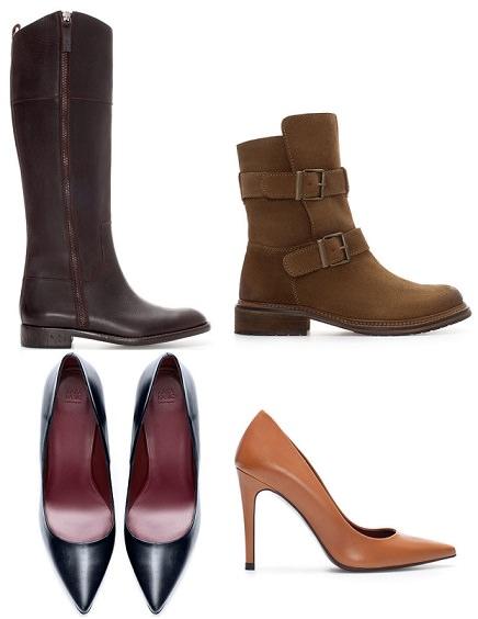 zapatos de rebajas de Zara enero 2014
