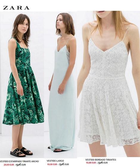 vestidos rebajas de zara verano 2014