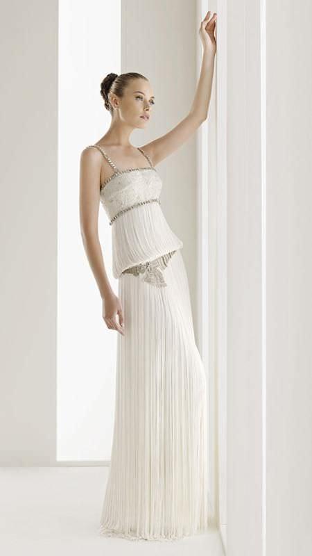 774de0bb2deb Vestidos de novia rosa clara 2010 catalogo - Vestidos elegantes