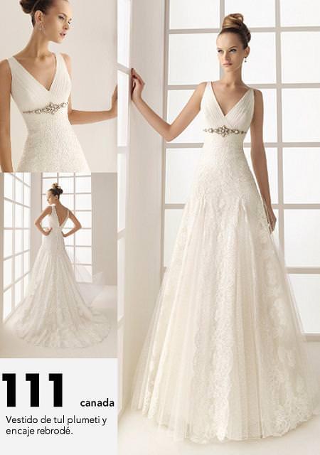RRosa Clará: TWO vestidos de novia