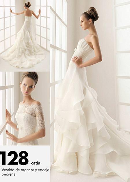 Rosa Clará: TWO vestidos de novia