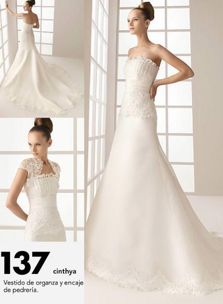 rosa clará: two vestidos de novia | demujer moda