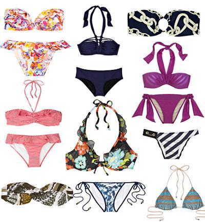 Los bikinis del verano 2010