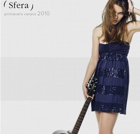Sfera, moda primavera verano 2010