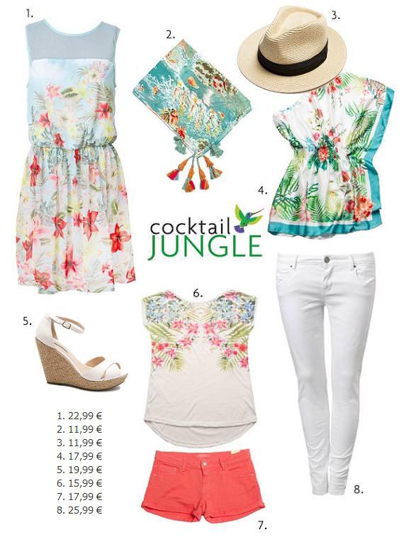 Sfera ropa, accesorios y zapatos primavera verano 2013