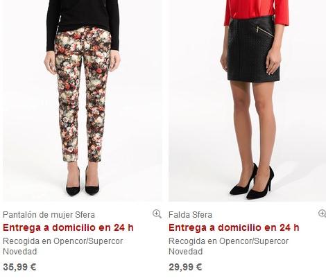 ropa de la tienda online de sfera