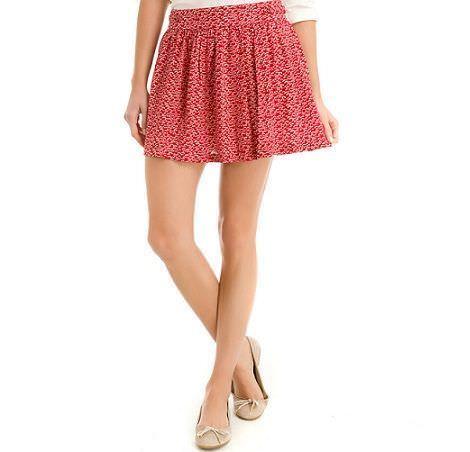 falda roja de springfield