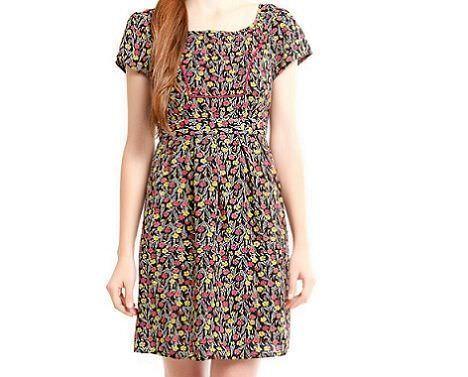 vestido flores de springfield